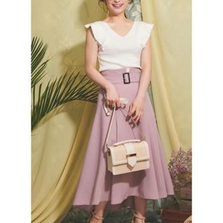 ノエラ(Noela)の20SS 新作 ボリュームフレアスカート(ひざ丈スカート)