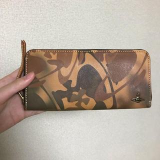 ヴィヴィアンウエストウッド(Vivienne Westwood)の新品✨ヴィヴィアンウエストウッド  長財布 正規品 カモフラ 本革 迷彩オーブ(長財布)