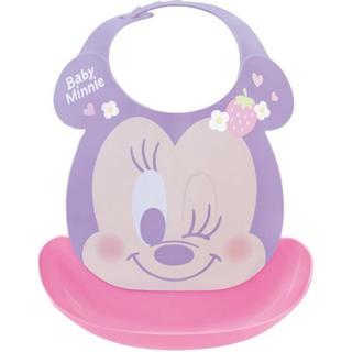 Disney - ディズニー ミニー はじめてのエプロン お食事エプロン 離乳食