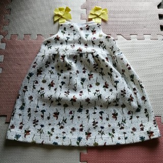 ザラキッズ(ZARA KIDS)のZARA baby ワンピース ジャンパースカート(ワンピース)