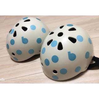 ブリヂストン(BRIDGESTONE)のブリヂストン 幼児用ヘルメット(セット)(ヘルメット/シールド)