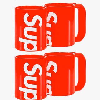 シュプリーム(Supreme)の【2個×2セット】Supreme Heller Mugs シュプリーム コップ(グラス/カップ)