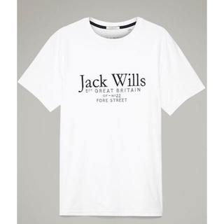 JACK WILLS ジャックウィルスCARNABY ロゴTシャツ(Tシャツ/カットソー(半袖/袖なし))
