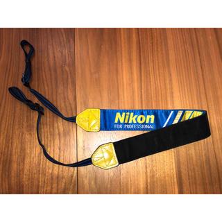 ニコン(Nikon)のNikon NPS 二コンプロストラップ ブルー(デジタル一眼)