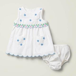 ボーデン(Boden)の新作 Boden 刺繍入りドレス ワンピース 104(ワンピース)