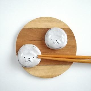ビションフリーゼ 箸置きセット(キッチン小物)