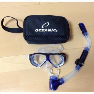 オーシャニック(Oceanic)のOCEANIC  ダイビングマスク(マリン/スイミング)