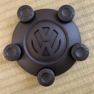 フォルクスワーゲン(Volkswagen)のフォルクスワーゲン スチールホイール センターキャップ (ハブキャップ)4ケ(ホイール)
