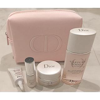 クリスチャンディオール(Christian Dior)のこたちゃん様専用 Dior カプチュールトータルセルENGYセット ミニサイズ(サンプル/トライアルキット)