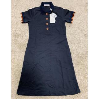 マークアンドロナ(MARK&LONA)の新品 MARK&LONA マーク&ロナ ポロシャツ ワンピース ゴルフウェア(ウエア)