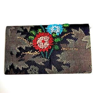 和装小物  財布  長財布  着物リメイク  布製  ハンドメイド  着物 和服(財布)
