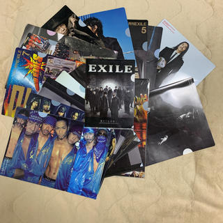 EXILE/非売品/クリアファイル/17枚セット/最終セール(クリアファイル)
