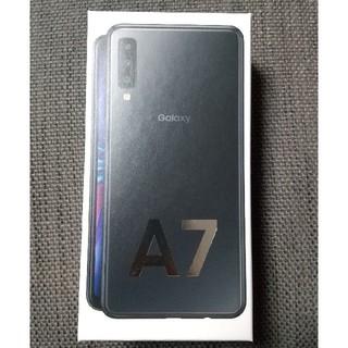 SAMSUNG - 新品未開封 Galaxy A7 64GB SIMフリー ブラック