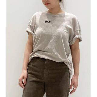 アパルトモンドゥーズィエムクラス(L'Appartement DEUXIEME CLASSE)のL'Appartement  BILLY ビリー LOGO T-SH Tシャツ(Tシャツ(半袖/袖なし))