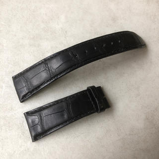 インターナショナルウォッチカンパニー(IWC)のIWC 純正 アリゲーターストラップ 黒色 22mm(レザーベルト)