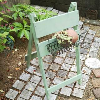 ウェルカムボード 折り畳み式 ガーデニングボード(家具)