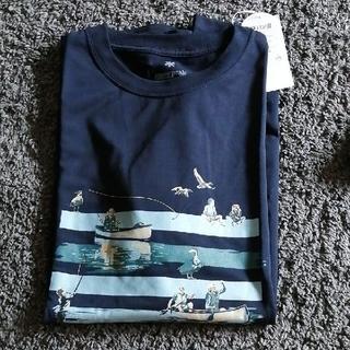 スノーピーク(Snow Peak)のSnowpeak Tシャツ xl 新品 とステッカー(Tシャツ/カットソー(半袖/袖なし))