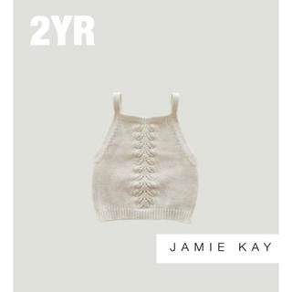 キャラメルベビー&チャイルド(Caramel baby&child )の【Jamie Kay】ジェイミーケイ ニットキャミソール(Tシャツ/カットソー)
