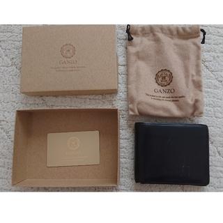 ガンゾ(GANZO)のGANZO 小銭入れ付き二つ折り財布(折り財布)