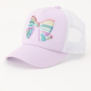 エニィファム(anyFAM)のミラクルスパンコール メッシュキャップ M(帽子)