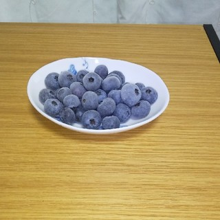 冷凍無農薬ブルーベリー(2020年産  L、2Lサイズ  1キロ)(フルーツ)