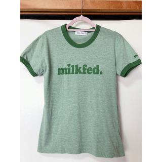 ミルクフェド(MILKFED.)のMILKFED. ミルクフェド ロゴTシャツ(Tシャツ(半袖/袖なし))