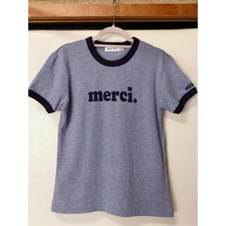 ミルクフェド(MILKFED.)のMILKFED.ミルクフェド Tシャツ merci.(Tシャツ(半袖/袖なし))