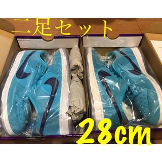 ナイキ(NIKE)のNIKE DUNK low SB BLUE FURY 28cm(スニーカー)