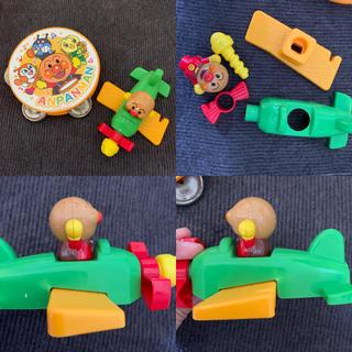 アンパンマン(アンパンマン)の6/28 アンパンマン あんぱんマン あんぱんまん タンバリン ひこうき(楽器のおもちゃ)