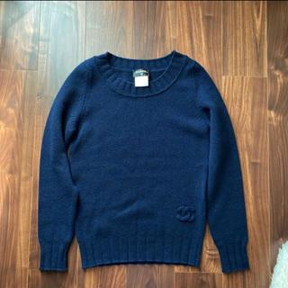 CHANEL - シャネル CHANEL 紺色 セーター 38サイズ 美品