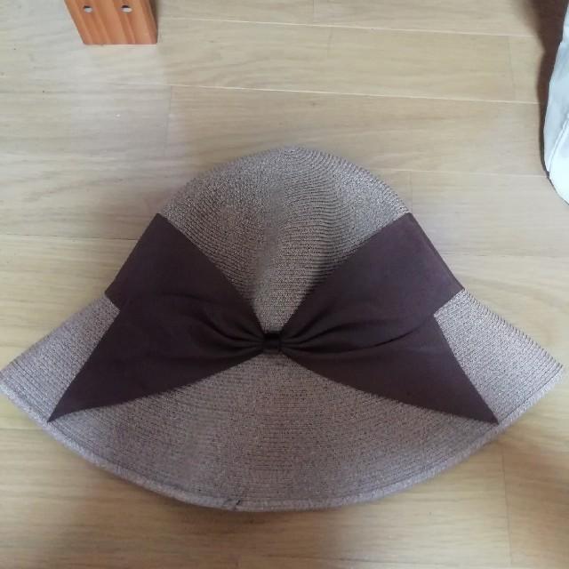 TOMORROWLAND(トゥモローランド)のアシーナニューヨーク 麦わら帽子 レディースの帽子(麦わら帽子/ストローハット)の商品写真