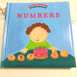 洋書 Little Discoveries NUMBERS 仕掛け絵本 英語知育(絵本/児童書)
