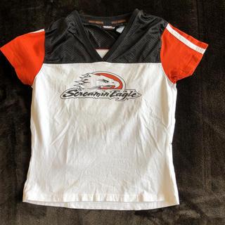 ハーレーダビッドソン(Harley Davidson)のハーレーダビットソン(HarleyDavidson)メッシュTシャツ ユーズド(その他)