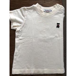 ダブルビー(DOUBLE.B)のミキハウス double.B ベビーTシャツ 80(Tシャツ)