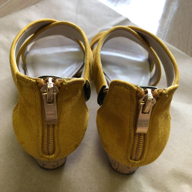 AU BANNISTER(オゥバニスター)の【再値下げしました】Au BANNISTER クロスウェッジサンダル レディースの靴/シューズ(サンダル)の商品写真