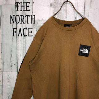 THE NORTH FACE - 大人気 ノースフェイス スリーブロゴ ボックスロゴ ワンポイント スクエアロゴ