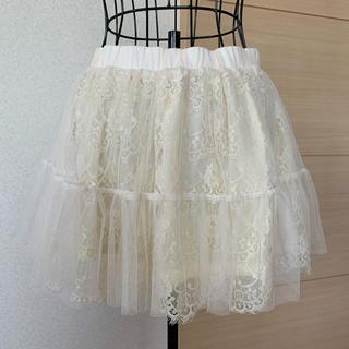 アンクルージュ(Ank Rouge)のAnk Rouge アンクルージュ♡チュールスカート パニエ(ミニスカート)