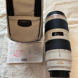 Canon - canon レンズ  EF70-200mm F2.8L IS II USM 美品