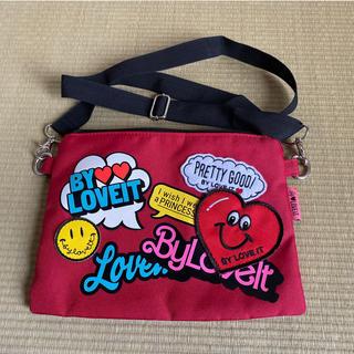 エムエイチアイバイマハリシ(MHI by maharishi)のサコッシュ 肩掛け鞄 ショルダー バッグ byLOVE iT バイラビット(ショルダーバッグ)