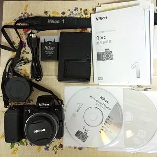 ニコン(Nikon)のニコン1 V2 本体 10-30ズームレンズセット(ミラーレス一眼)