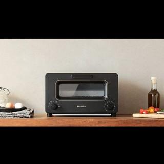 バルミューダ(BALMUDA)の新品未開封 バルミューダ スチームオーブントースター K01E-KG ブラック(調理機器)