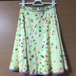 レオナール(LEONARD)のレオナール 柄スカート(ひざ丈スカート)