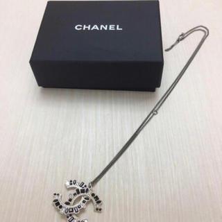 シャネル(CHANEL)の箱付★16年モデル ココマーク ストーンネックレス(ネックレス)