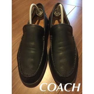 COACH - COACH コーチ  ローファー スリッポン   ブラック