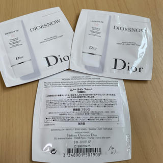 ディオール(Dior)のDior スノーライトフォーム(洗顔料)