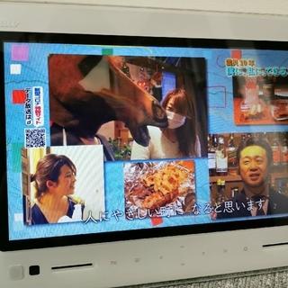 エーユー(au)の(funfunさん専用)ポータブルテレビ au PHOTO-U TV(テレビ)