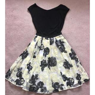 ジャスグリッティー(JUSGLITTY)のジャスグリッティー 花柄スカート  00(ひざ丈スカート)