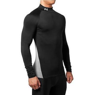 アンダーアーマー(UNDER ARMOUR)のアンダーアーマー XL ブラック アンダーシャツ インナー 長袖 1295658(ウェア)