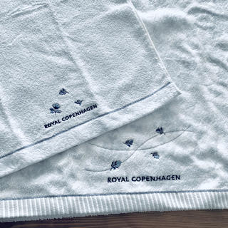 ロイヤルコペンハーゲン(ROYAL COPENHAGEN)のロイヤルコペンハーゲン バスタオルハンドタオル(タオル/バス用品)