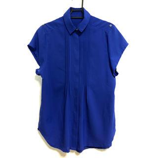 アップタイト(uptight)の半袖プリーツブラウス(シャツ/ブラウス(半袖/袖なし))